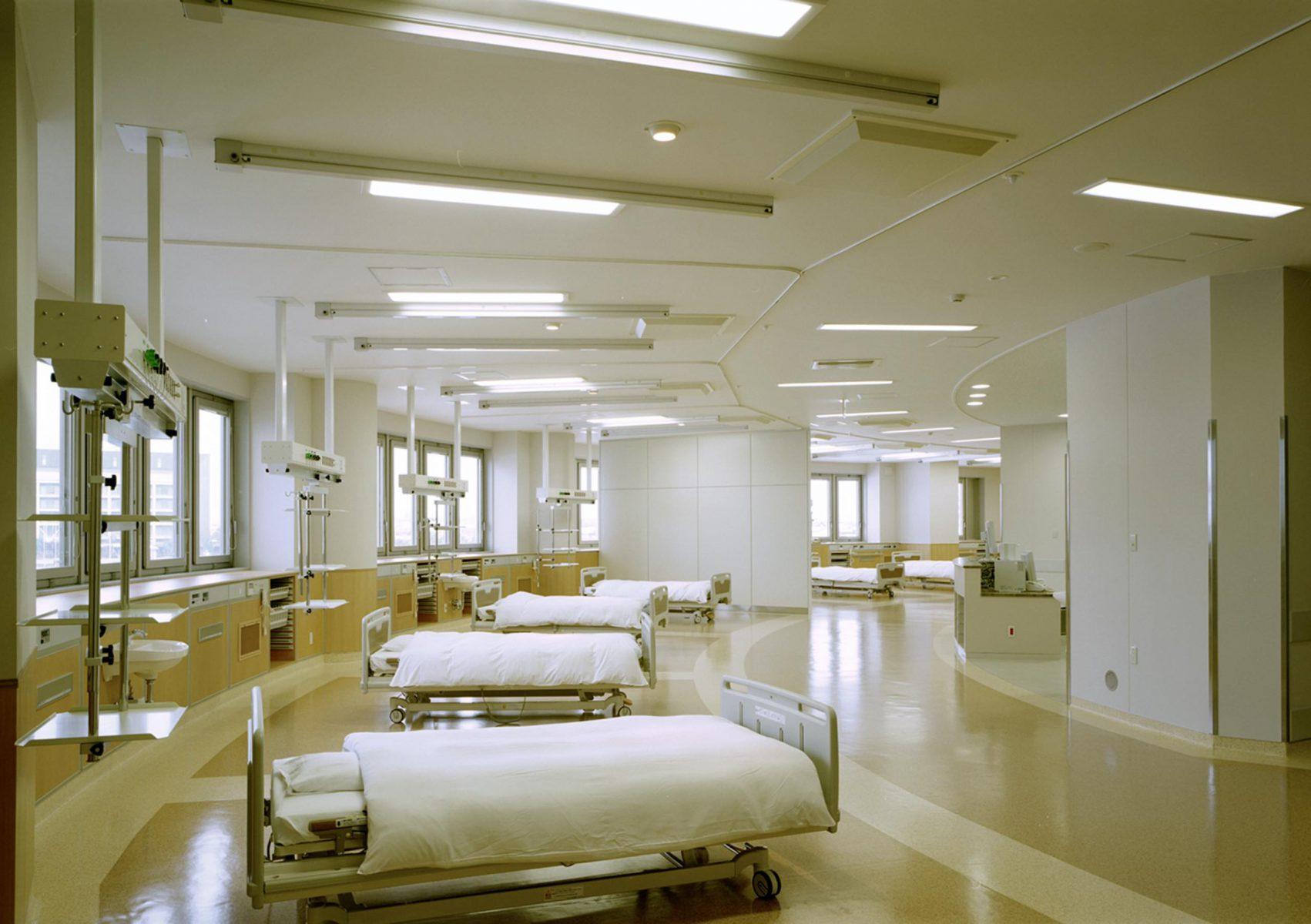 第3次増改築北病棟 2階 回復室