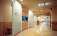 3F西側廊下と金魚水槽