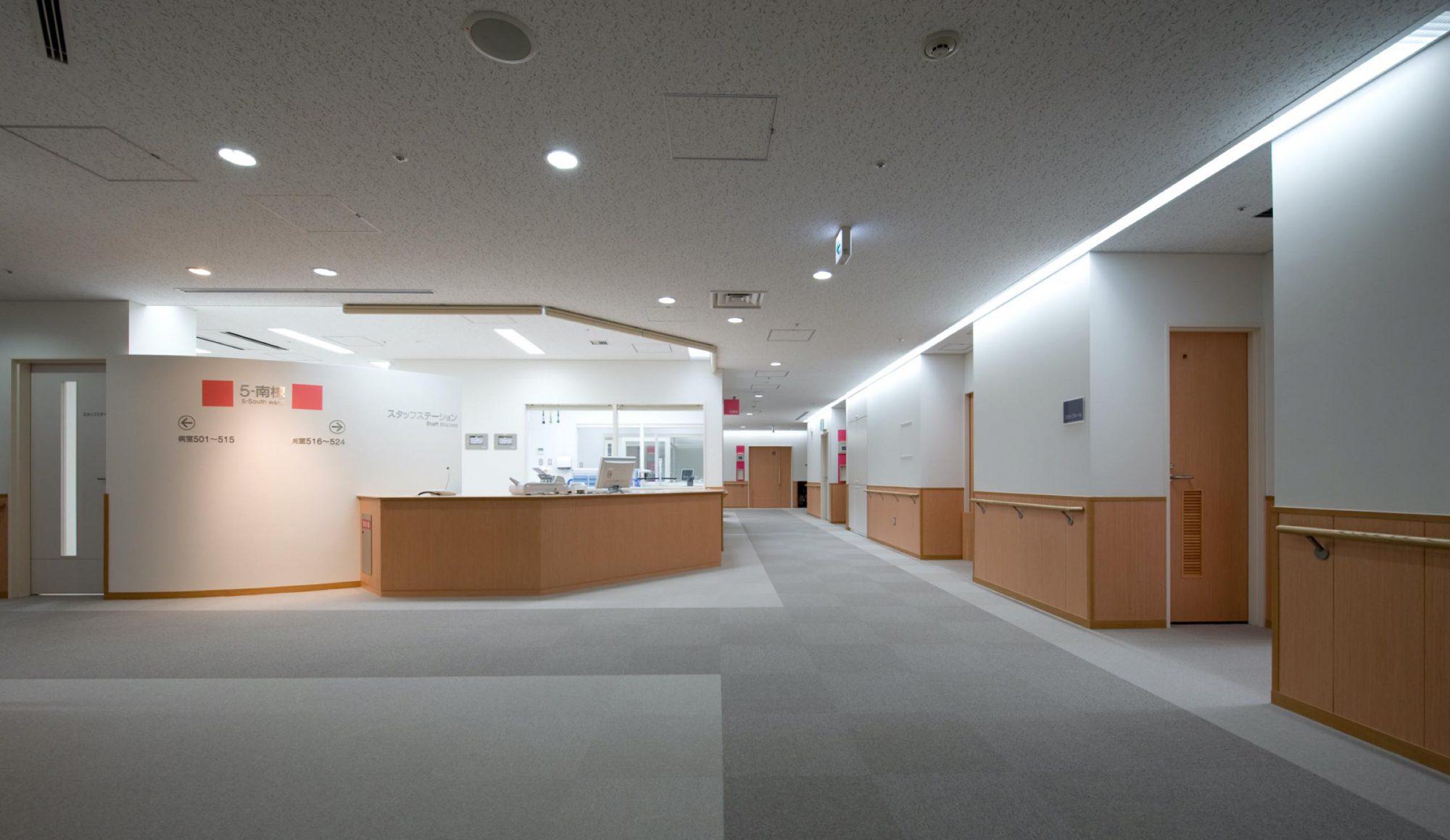病棟/スタッフステーション受付廻り
