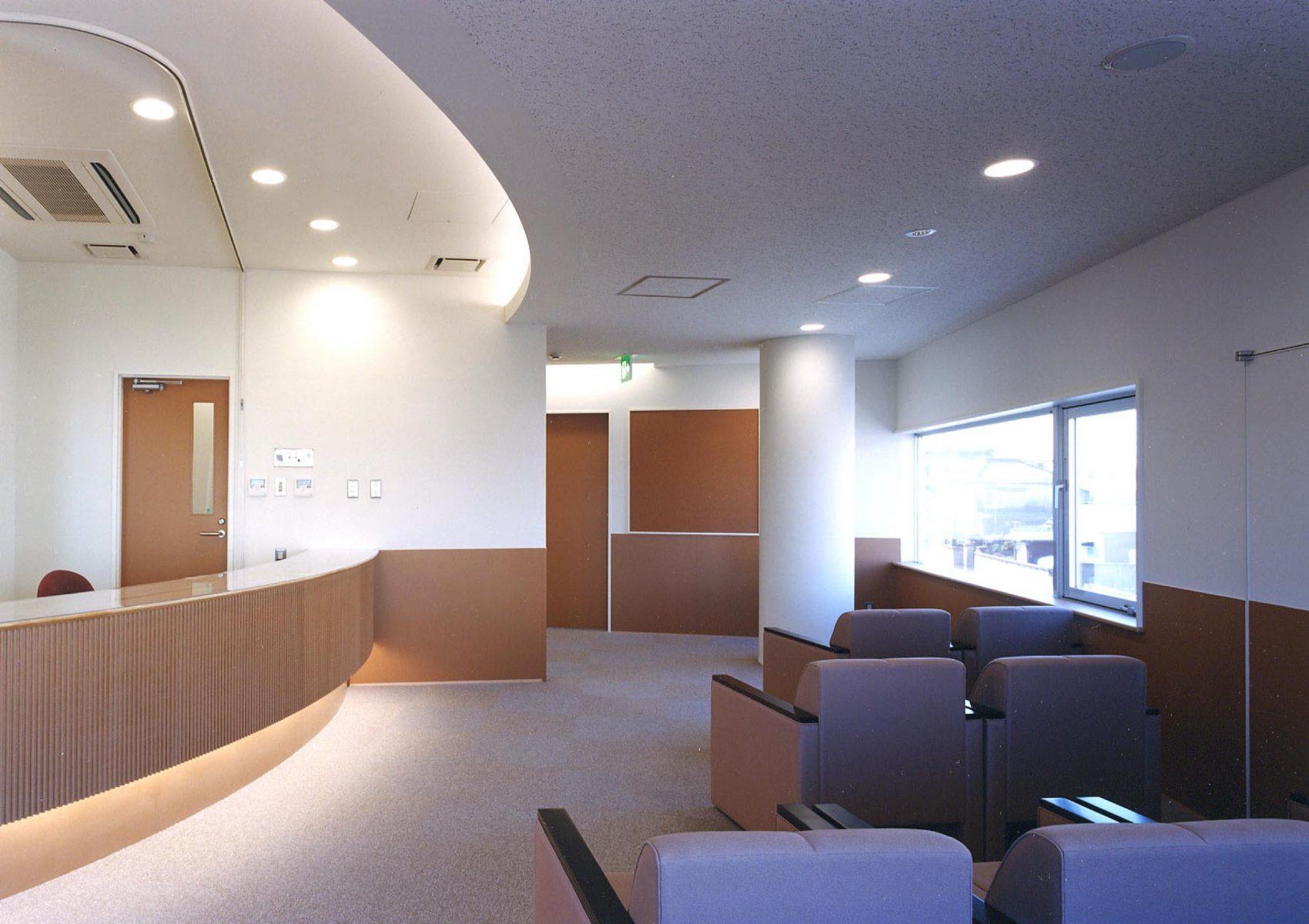 2階クリニック精神科待合室