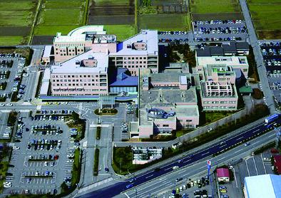 公立松任石川中央病院 〈第2回病院建築賞〉〈第4回公共建築賞〉〈第21回中部建築賞〉〈第23回SDA賞〉〈第11回石川県建築賞〉