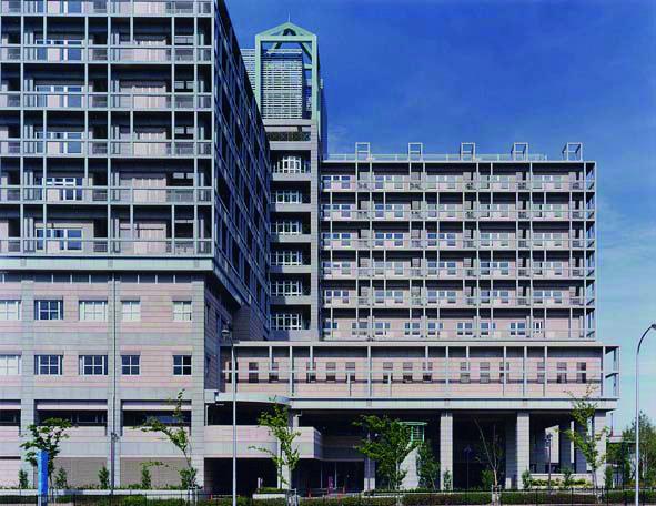 西神戸医療センター〈医療福祉建築賞1995〉