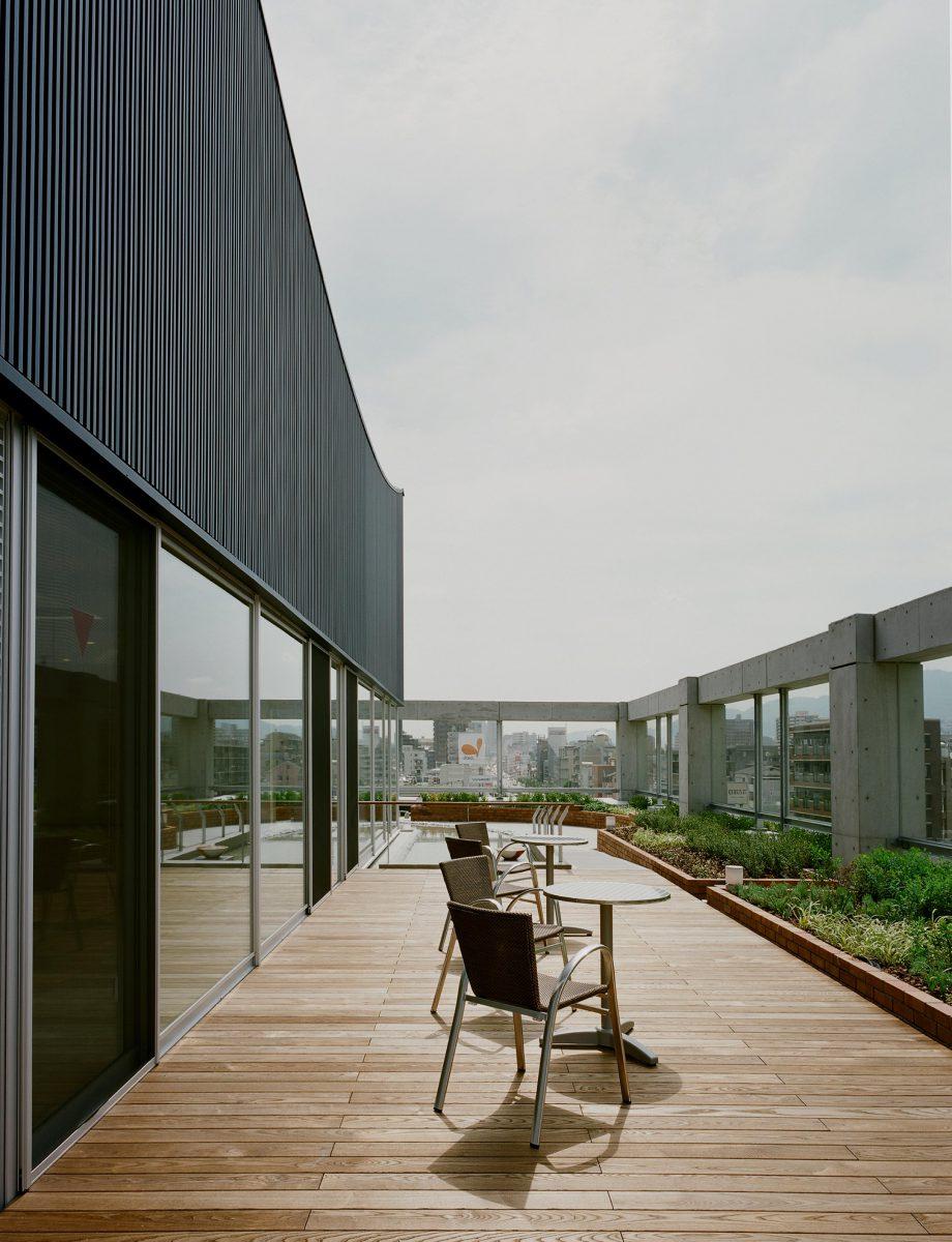 屋上リハ庭園