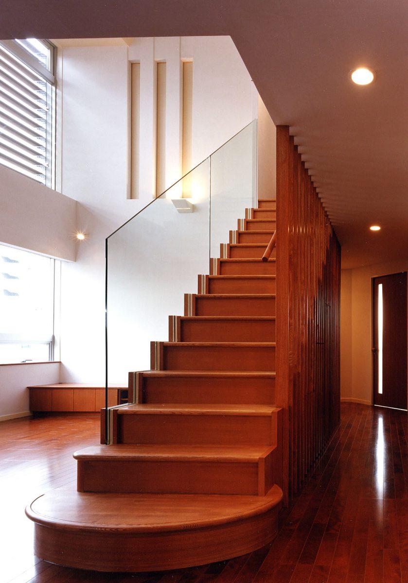 住宅吹抜階段