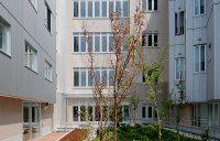 2階屋上庭園