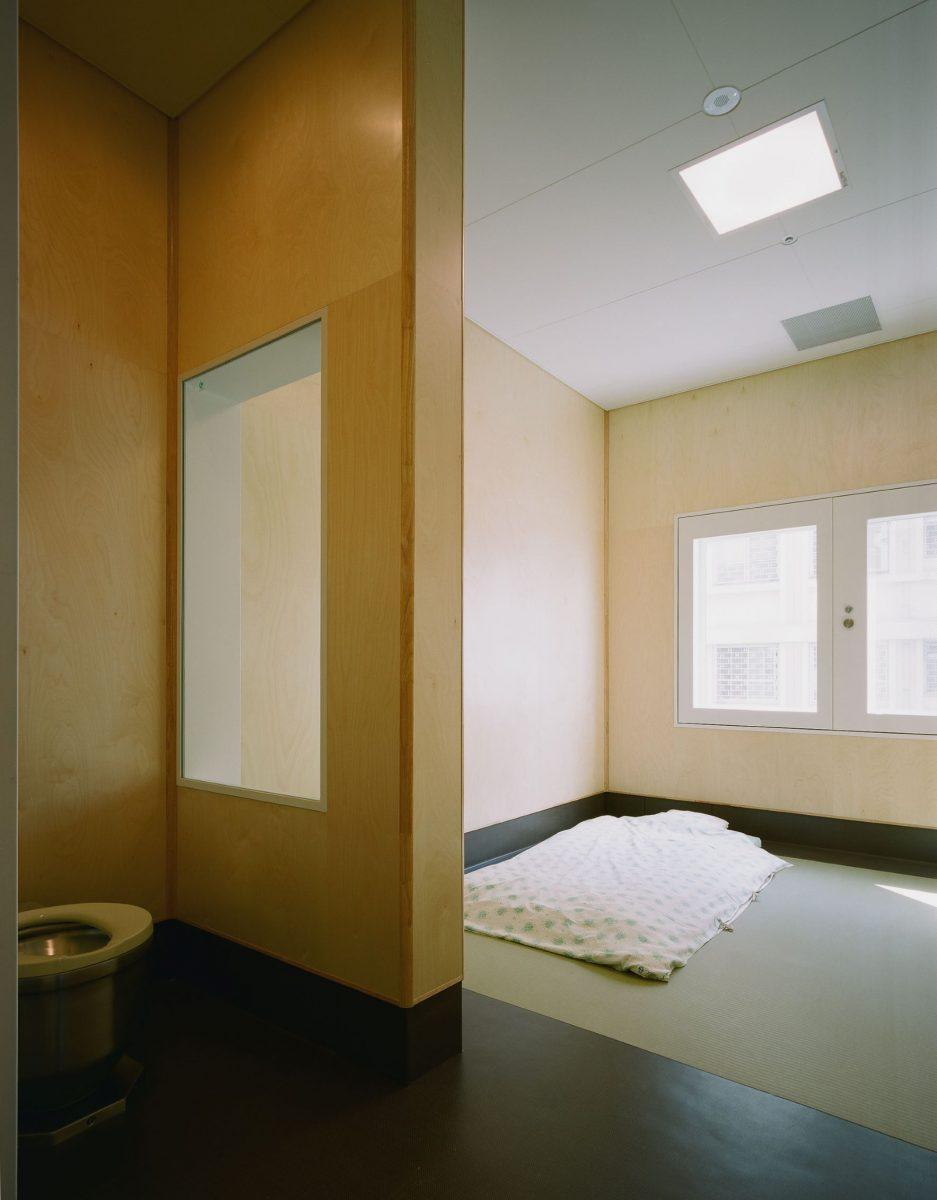 けやき棟 保護室