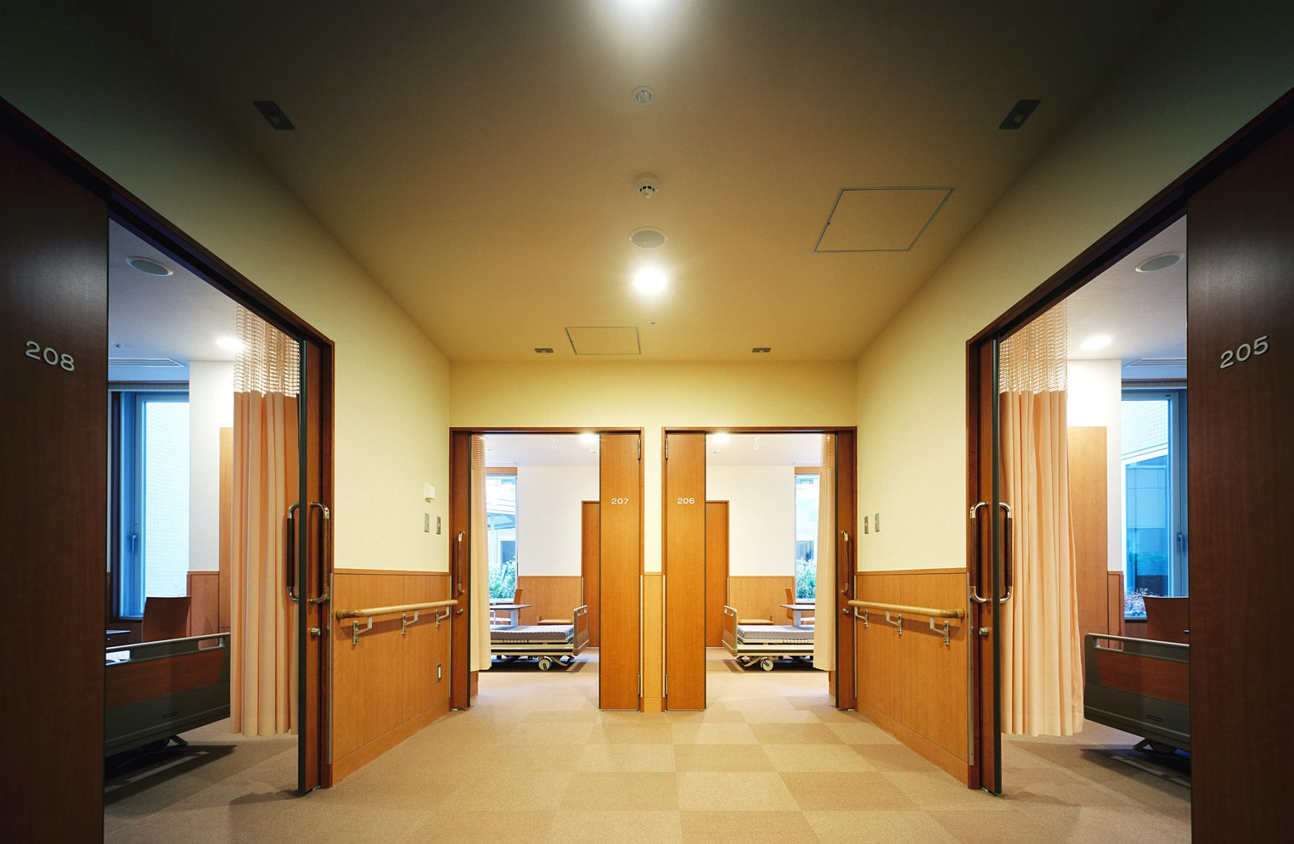 1床室群の前室